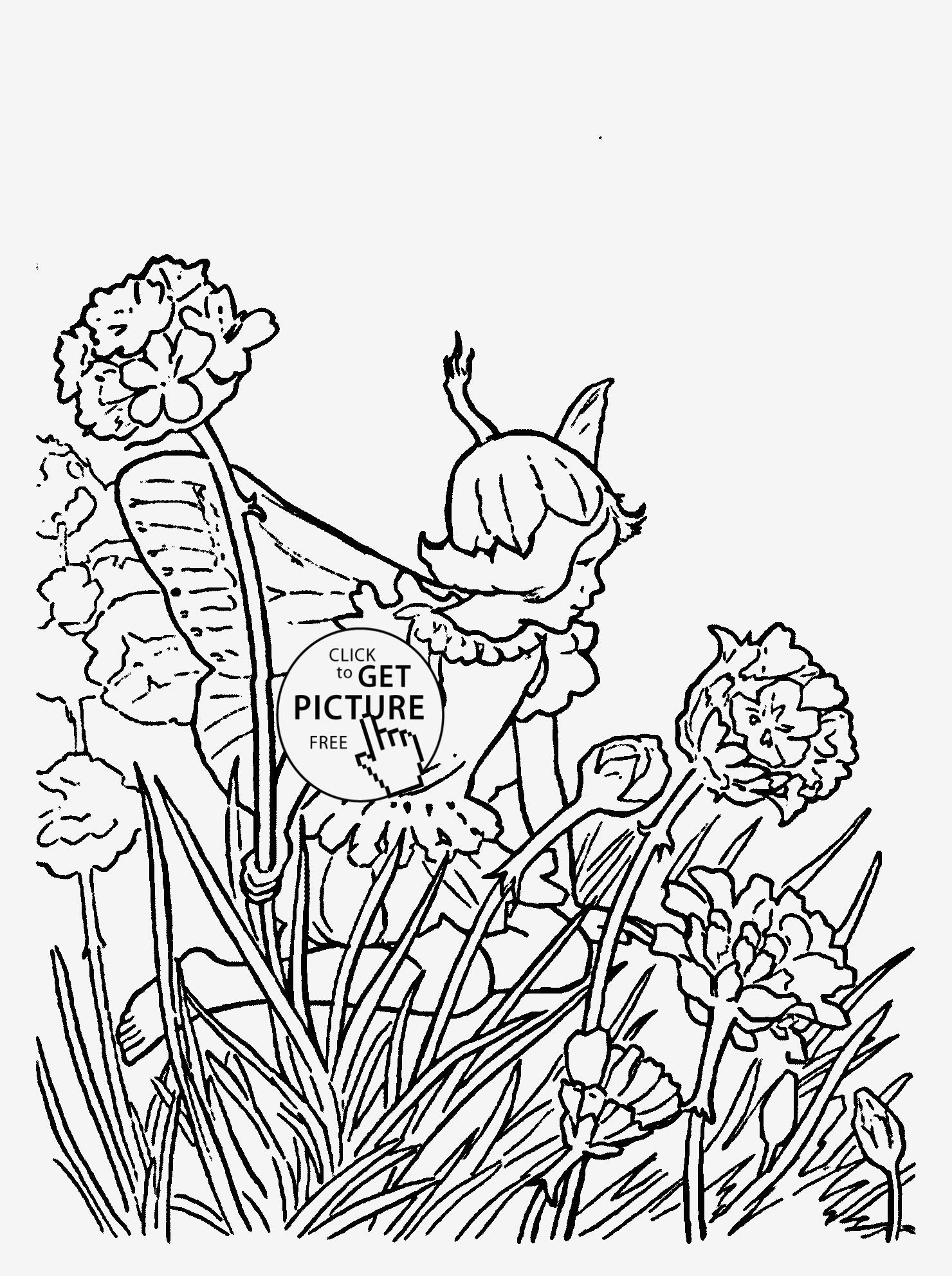 Excellent Girl Leprechaun Coloring Page Girls Coloring Pages