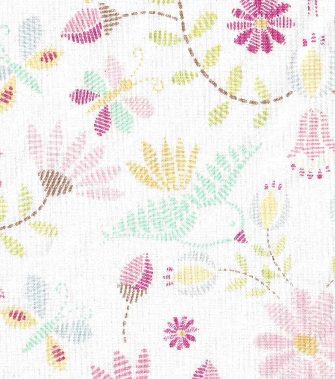 Nursery Fabric- Jael Pastel
