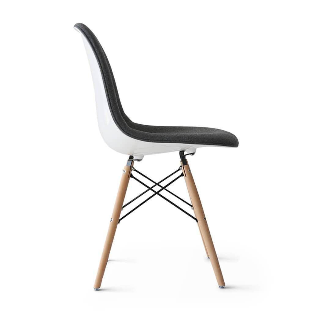 25% Off Dsw Chair - Upholstered Fiberglass - Eternity Modern