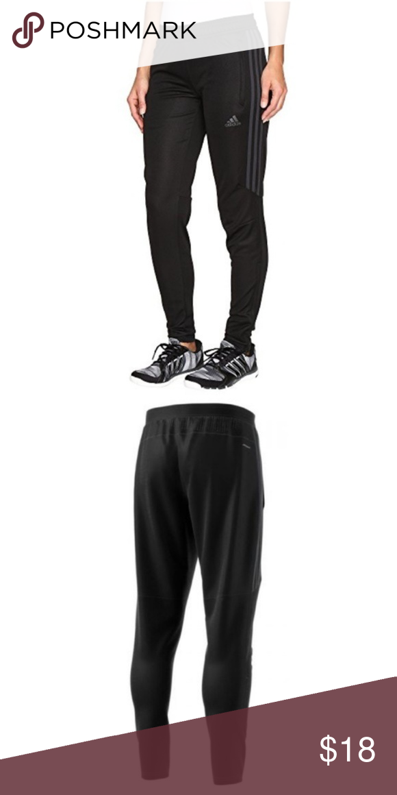 Adidas Climacool Women s Joggers Adidas Climacool All Black Women s Joggers  Never Worn without Tag Ankled Zippers Soccer Pants adidas Pants Track Pants    ... 240fa572bc