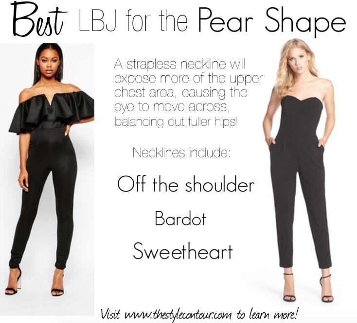 74b646663 Jump Start Your Style with the Perfect Little Black Jumpsuit (LBJ) for Your  Body Shape! - The Style Contour