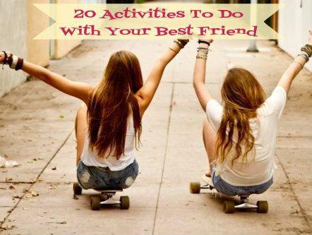 fun activities for best friends