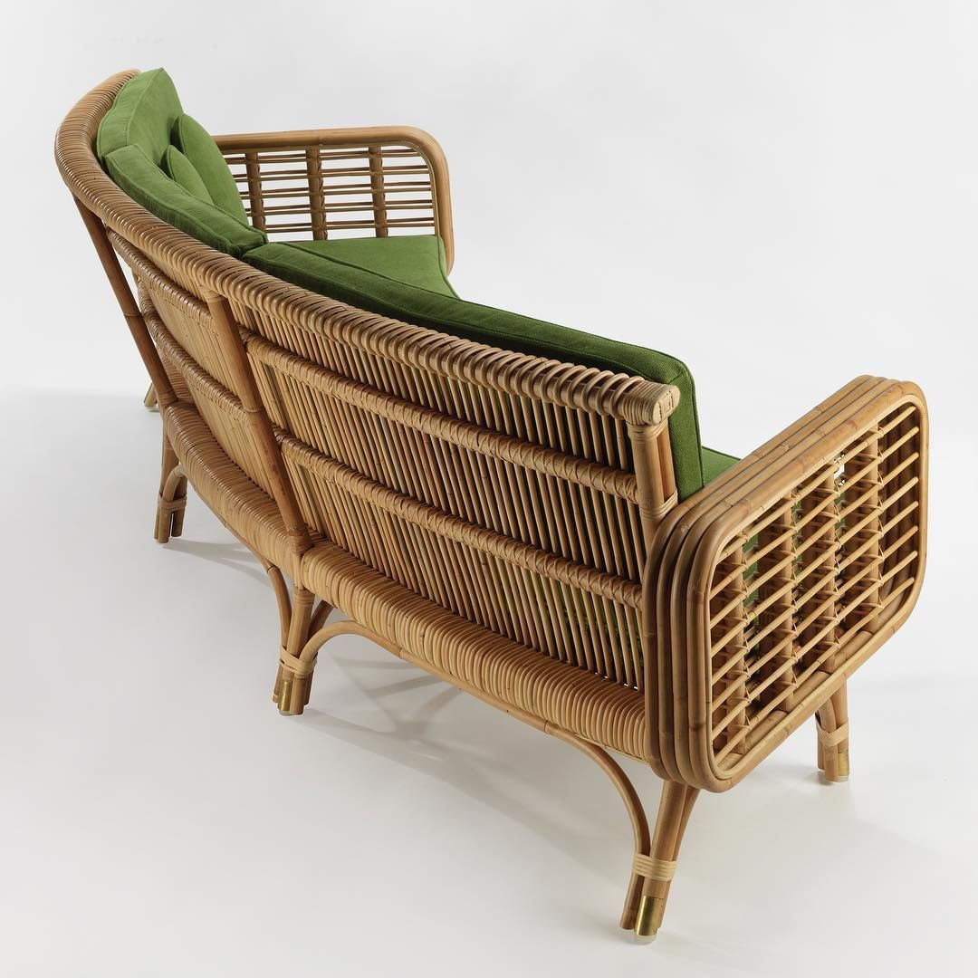 India Mahdavi On Instagram Cap Martin Curved Sofa Coming Soon Ralphpucciint In Miami Indiamahdavi Curved Sofa Sofa Outdoor Sofa