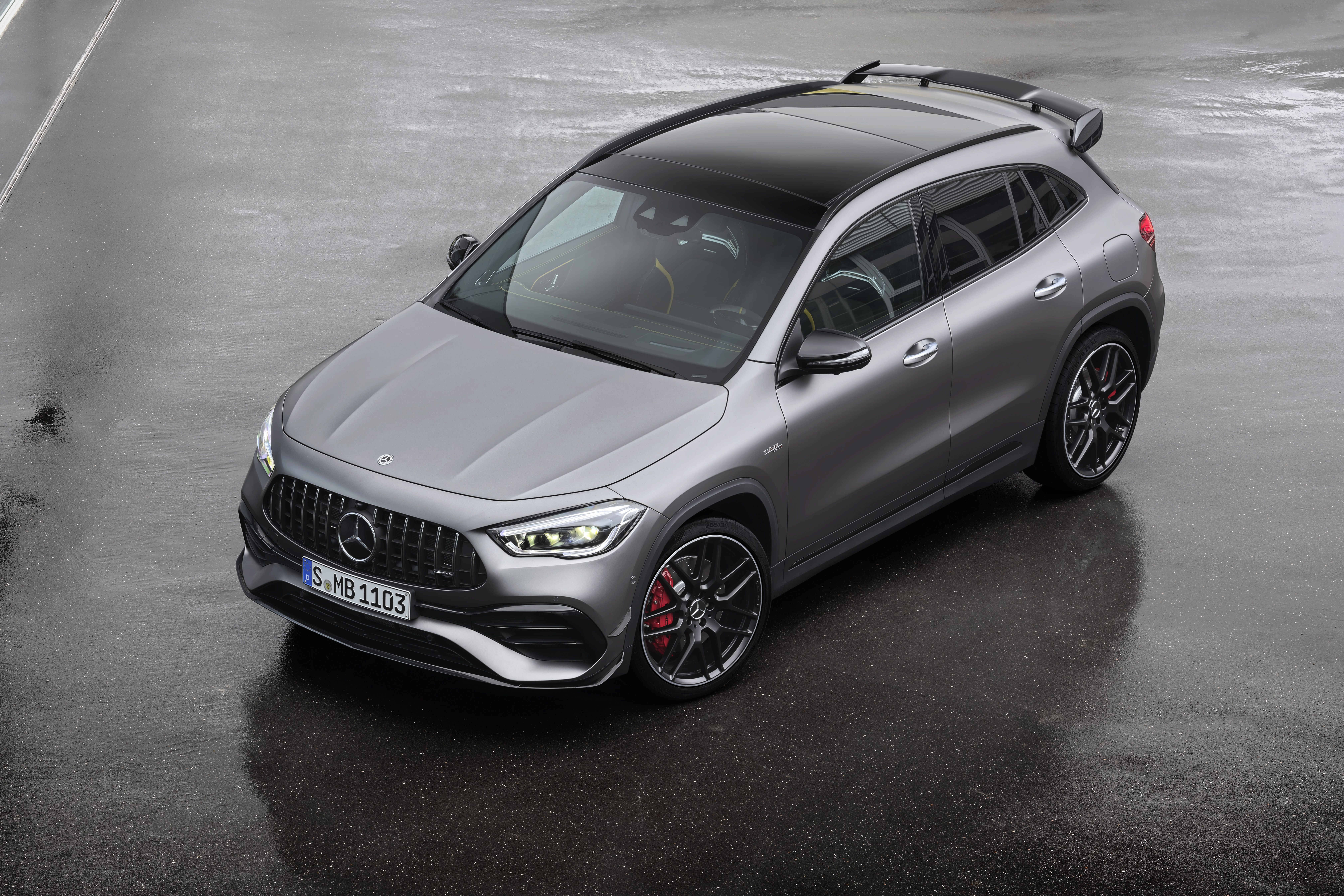 Mercedes Benz Amg Gla 45 4matic Factory Issued Press Photo 2020