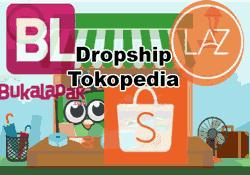 Yuk Ketahui Cara Menjadi Dropship Di Tokopedia Dan Tips Untuk Pemula Yang Mau Daftar Pake Fitur Order Sebagai Dropshipper Tokopedia Ke Shopee Bukalapak La Tips