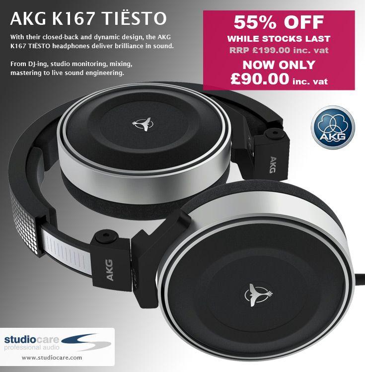 AKG K167 DJ - Over-ear Headphones For Professional DJs And