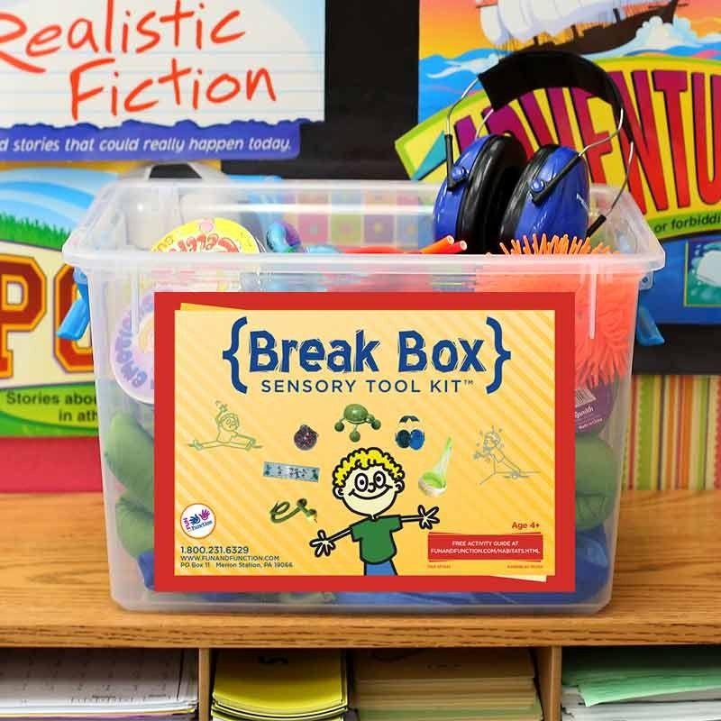 Classroom Break Ideas : Classroom break boxes sensory tool kit tools