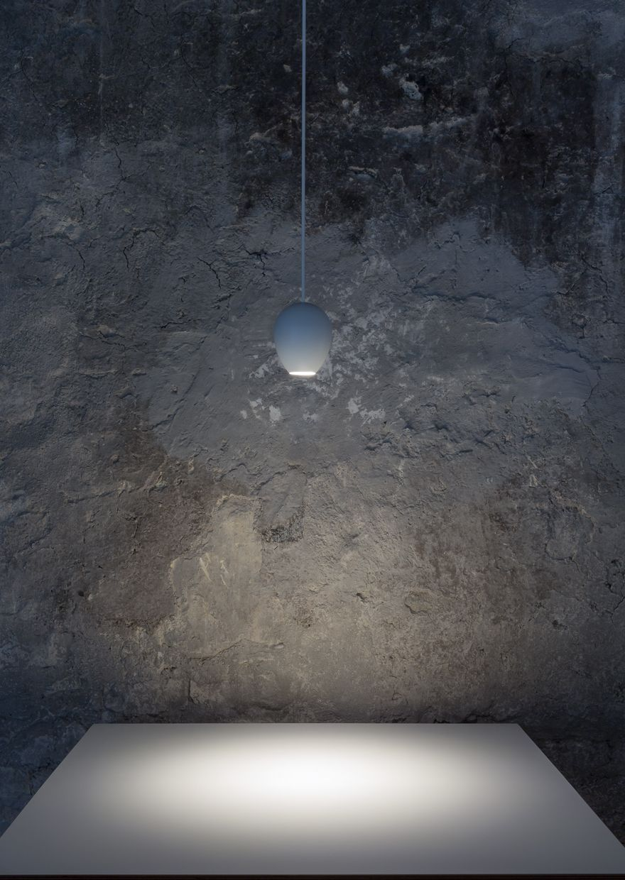 OVO lamp in the N'ORMA project. #davidegroppi