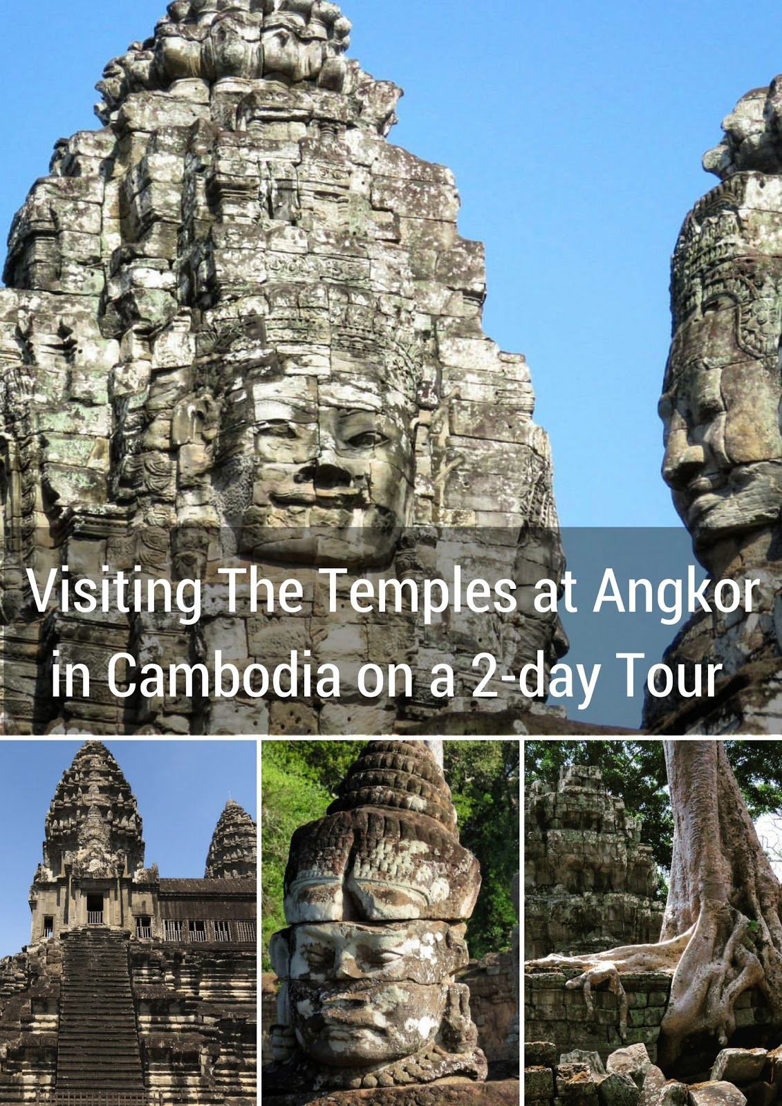 Visiting The Temples at Angkor in Cambodia on a 2-day Tour with a Private Air-Conditioned Car and Guide | Sidewalk Safari