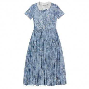 Blue Laura Dress
