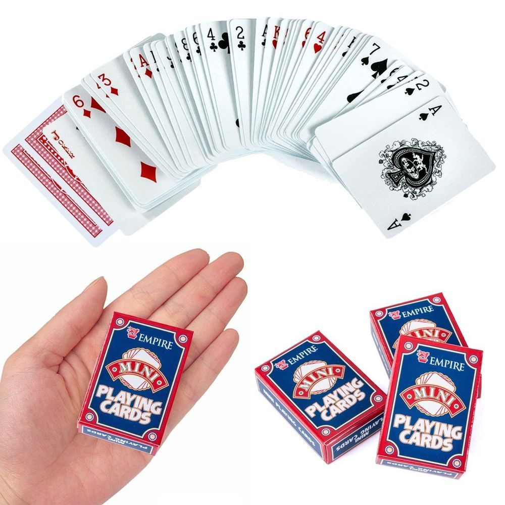 Mini Playing Cards Party Supplies Poker Playing Cards