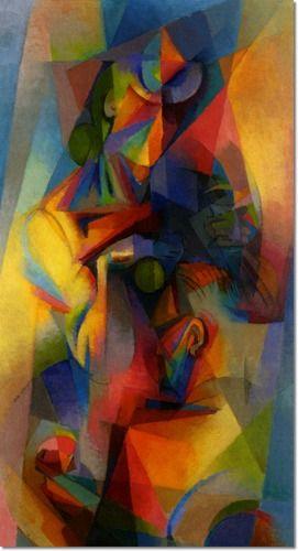 Stanton Macdonald-Wright - Stanton Macdonald Wright - Synchromy Painting