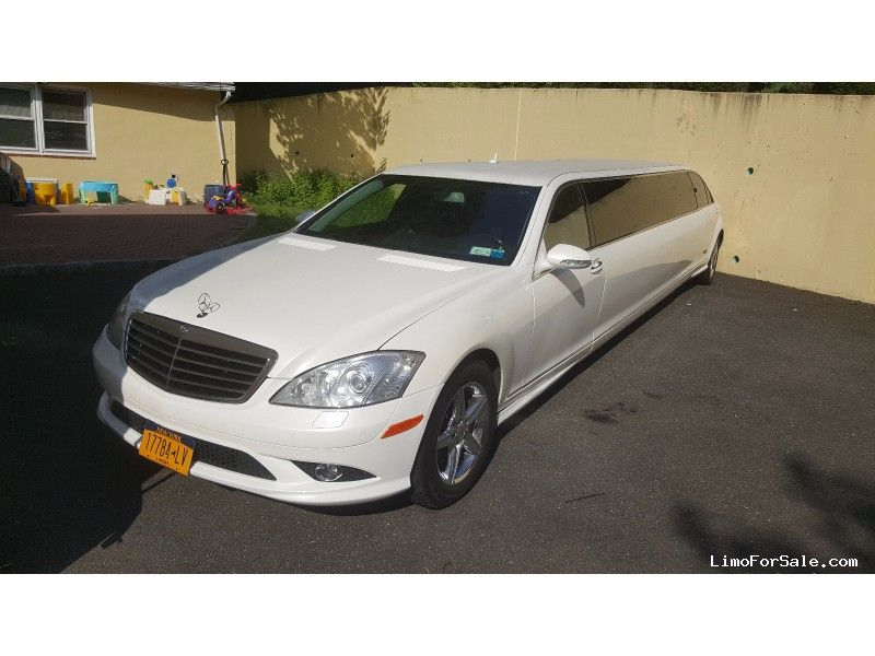 2008 Mercedes Benz S550 (W221) Stretch Limousine: With Gullwing Doors