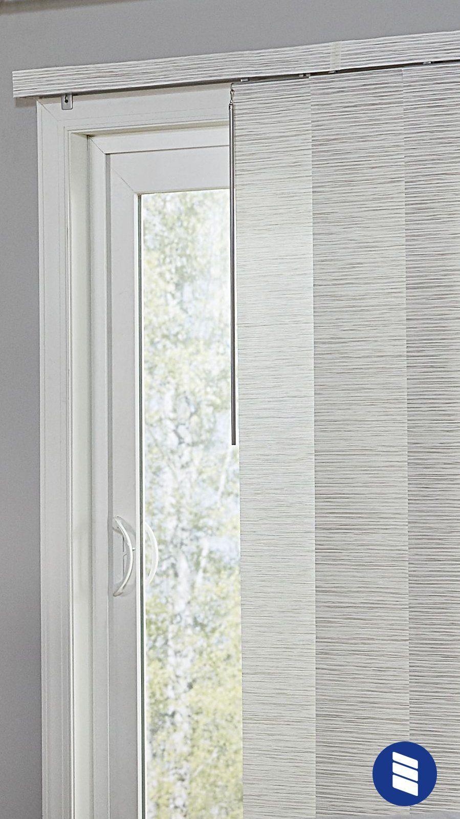 The Best Vertical Blinds Alternatives For Sliding Glass Doors Blinds Com Sliding Glass Door Window Treatments Vertical Blinds Alternative Door Coverings