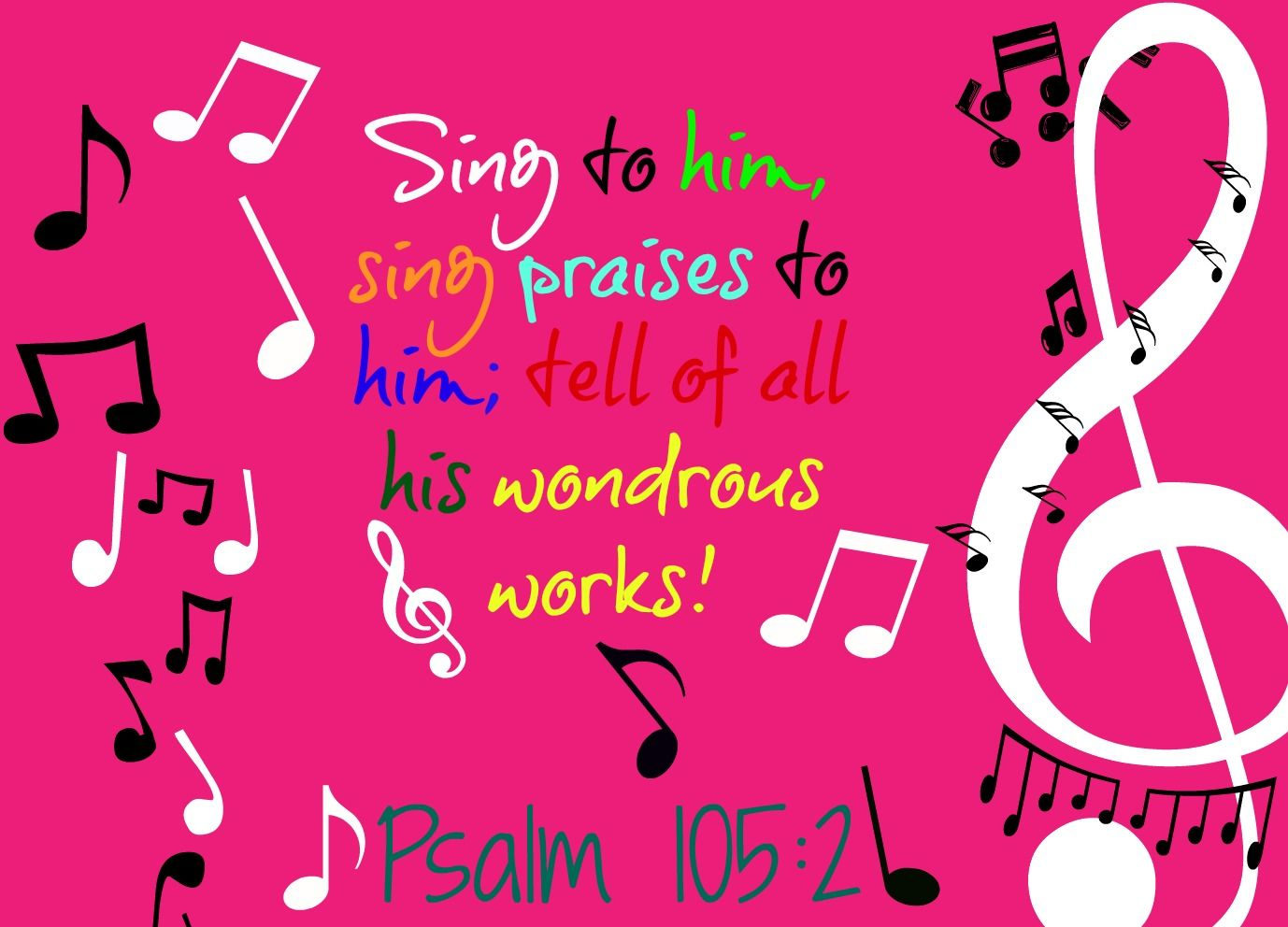 Psalm 105 2