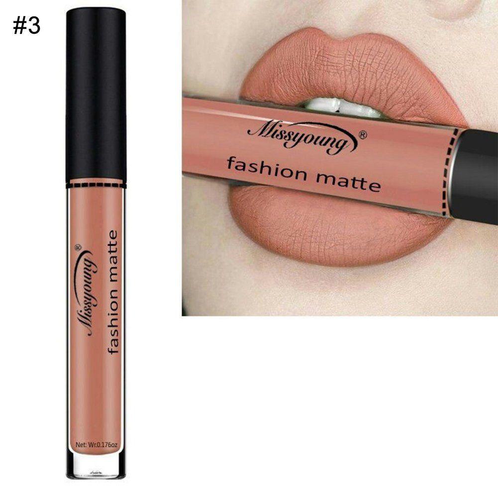 Gracefulvara women matte lip gloss long lasting liquid