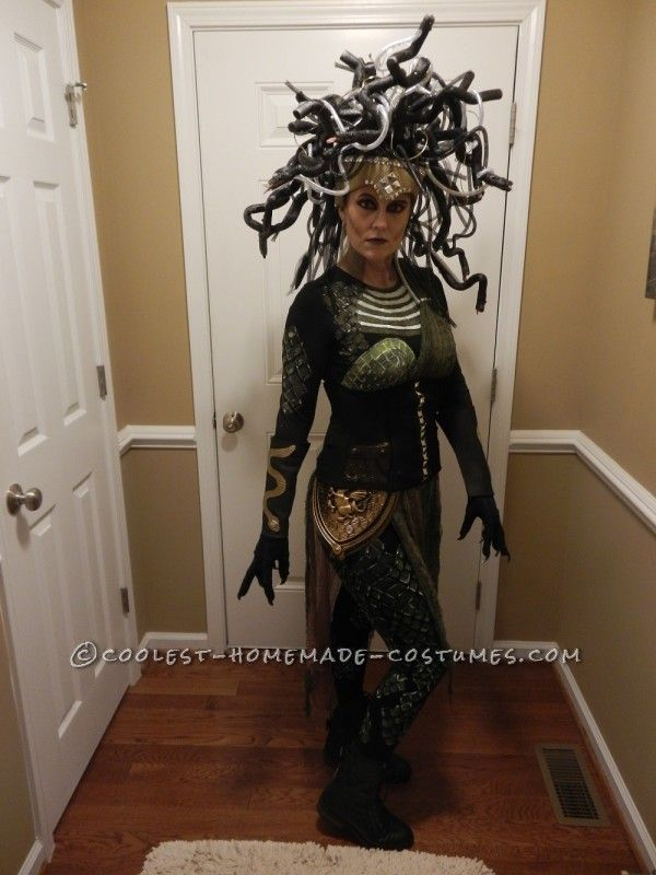 Contest Winning DIY Medusa Costume - 1  sc 1 st  Pinterest : pictures of medusa costumes  - Germanpascual.Com