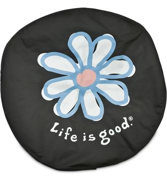 Life Is Good Spare Tire Cover Daisy From Jeep Retailer Tire