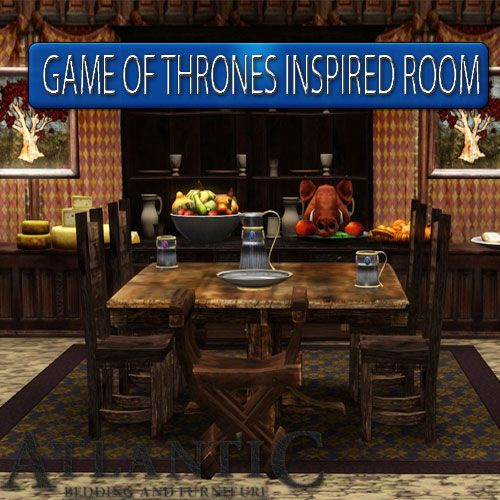 Game Of Thrones Inspired Room Atlantic Bedding And Furniture Greenville Sc Room Inspiration Funny Furniture Furniture Blog