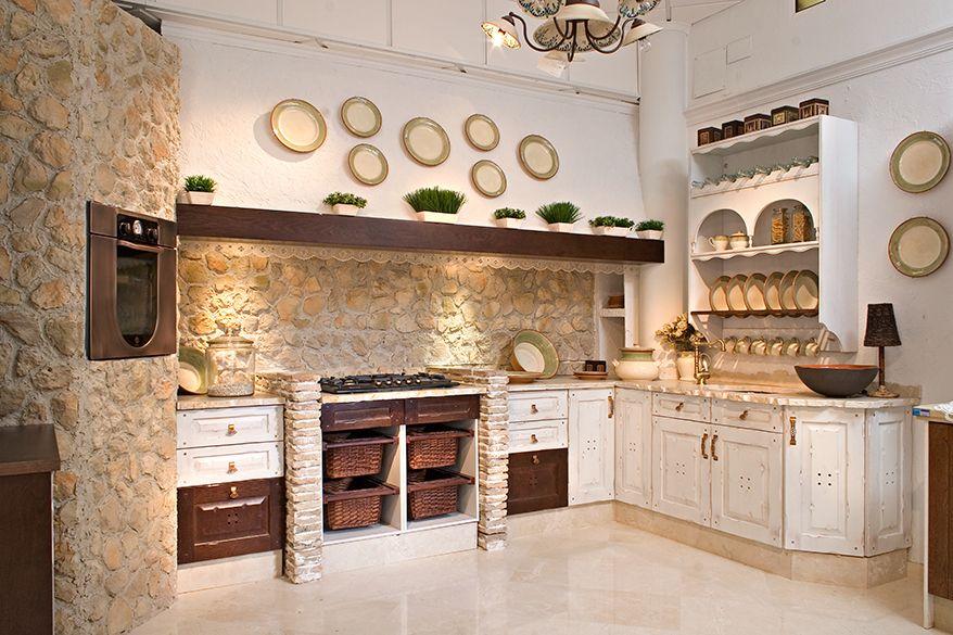 Decoraci n de cocinas r sticas en 7 pasos muebles s rria - Decoracion cocinas rusticas ...