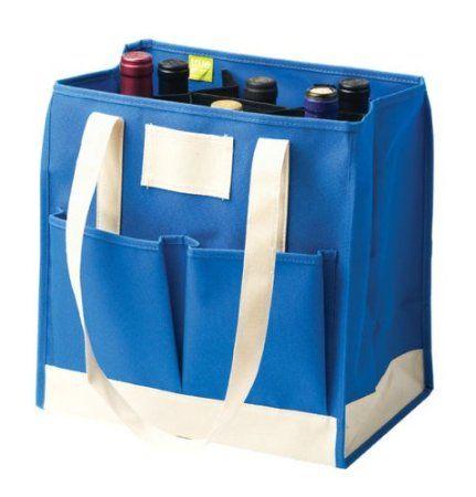 Pin By Vineyard Brands On Great Wine Gear Fabric Wine Bottle Bag Wine Bottle Gift Bag Canvas Wine Tote