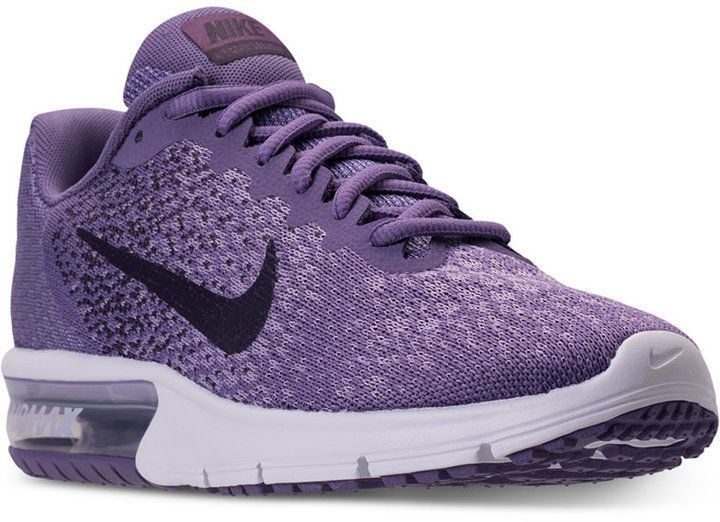 Nike Women's Air Max Sequent 2 Running Sneakers from Finish