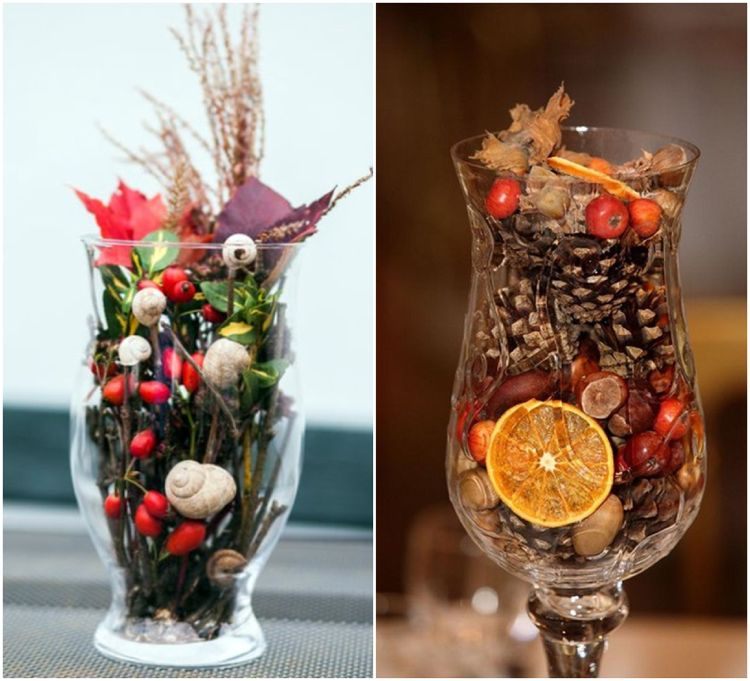 Herbstdeko Im Glas Selber Machen Einfache Ideen Zum
