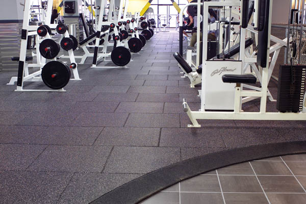 Gold s gym in oakland ca rubber weight room