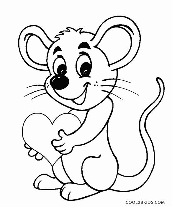 Printable Mouse Coloring Pages For Kids Cool2bKids mice