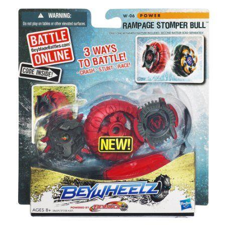 Amazon Com Beyblade Beywheelz Rampage Stomper Bull Battler W 06