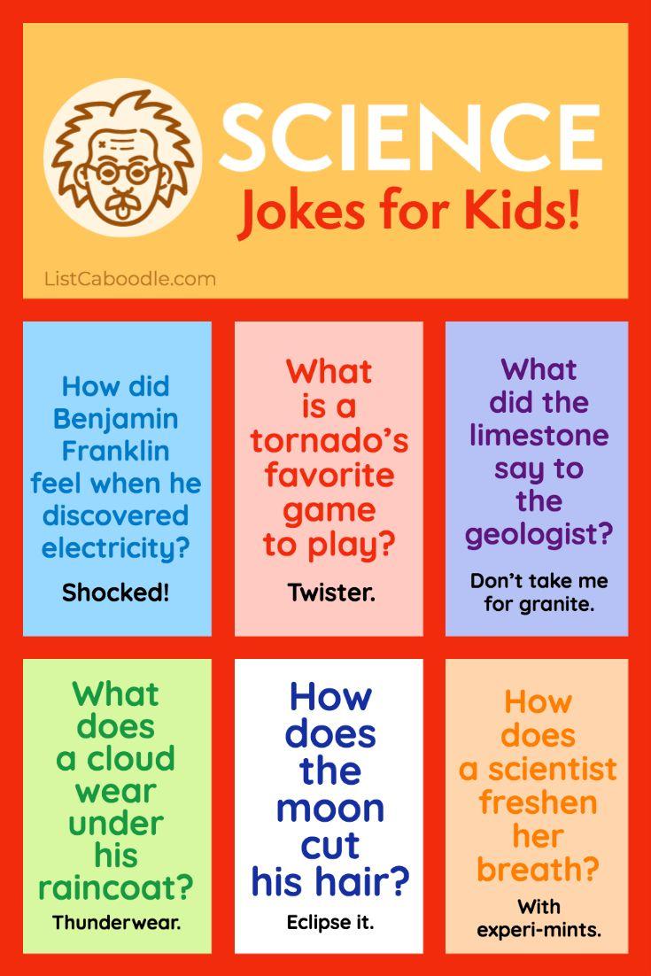 Science Jokes For Kids – Very Funny!