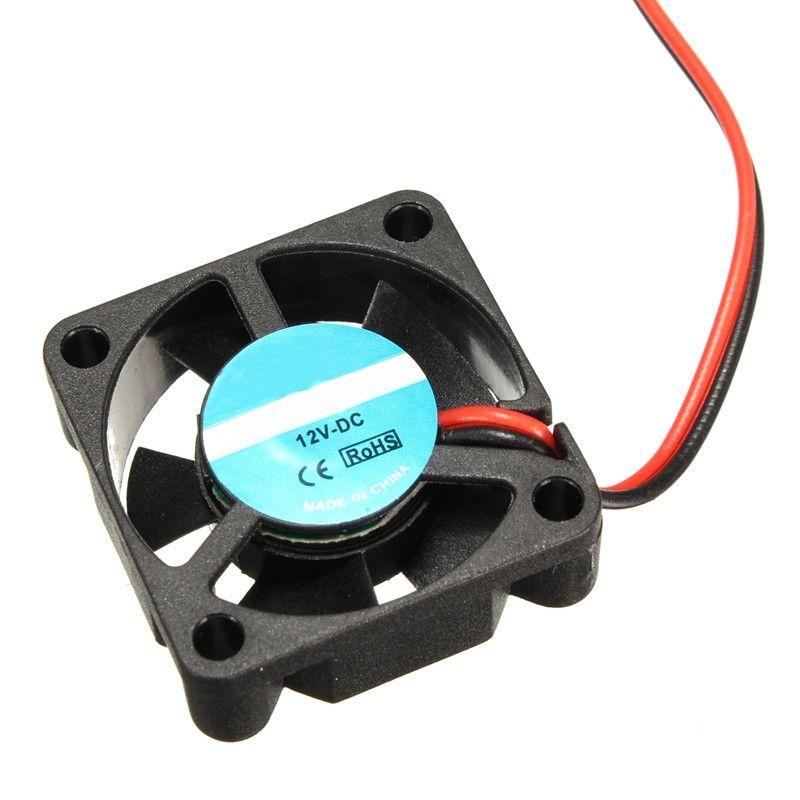 New Dc 12v Mini Cooling Fan 30mm X 30mm X 10mm Small Exhaust Fan
