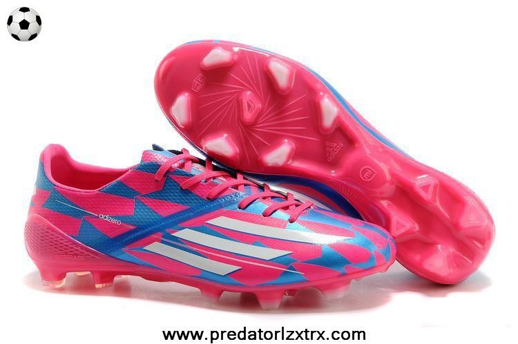 gastar Excretar mudo  TRX FG Adidas F50 AdiZero (Pink White Blue) | Football boots, Nike soccer  shoes, Blue football boots