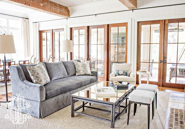 Living Rooms by Leah G Bailey Interior Design Savannah Southeast GA