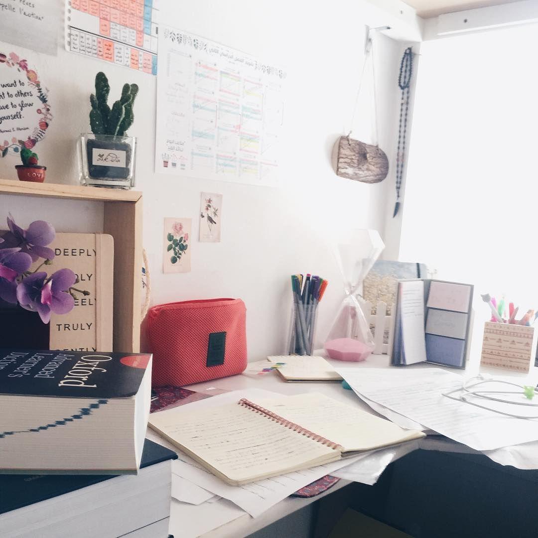دراسة وإنجاز Office Desk Home Decor Decor
