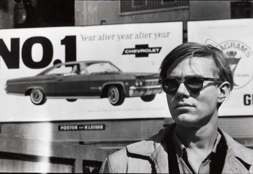 Warhol, photo by Billy Name
