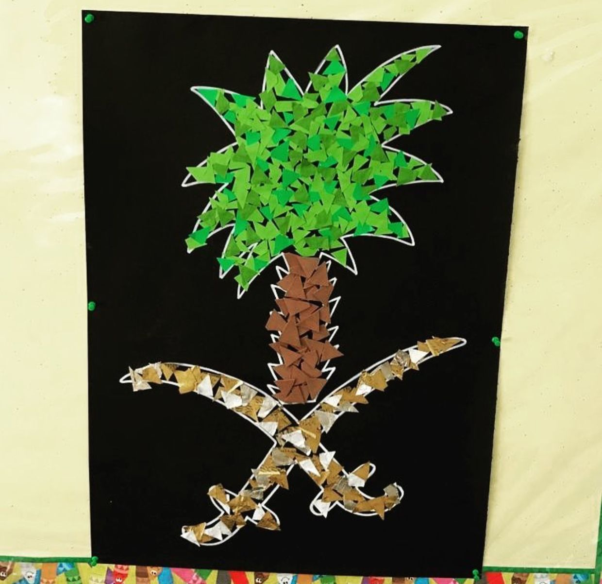 Pin By Wed O On National Day Saudi With Images Themed Crafts