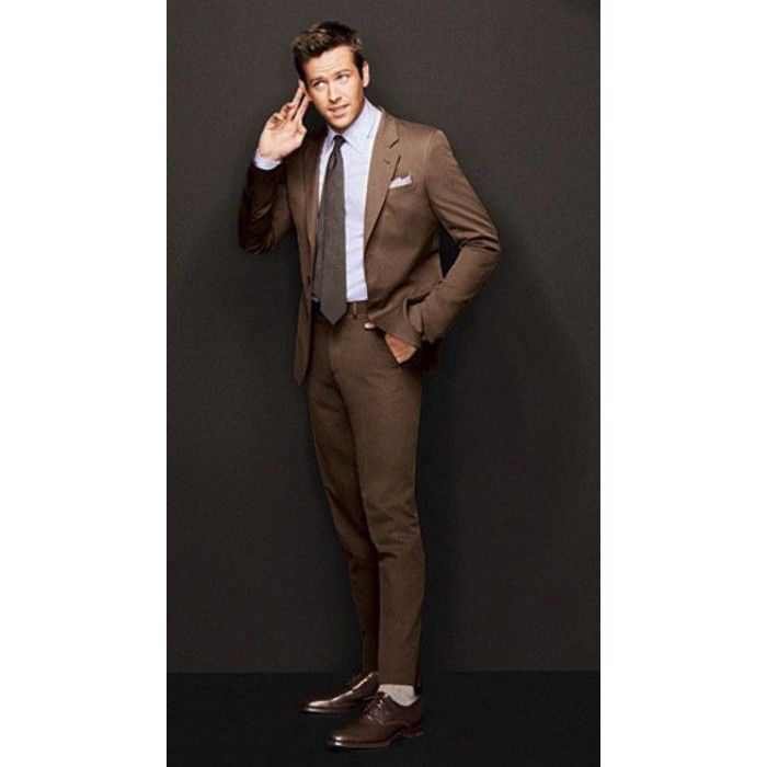 Mens Brown Suit | suit | Pinterest | Mens brown suit, Brown suits ...