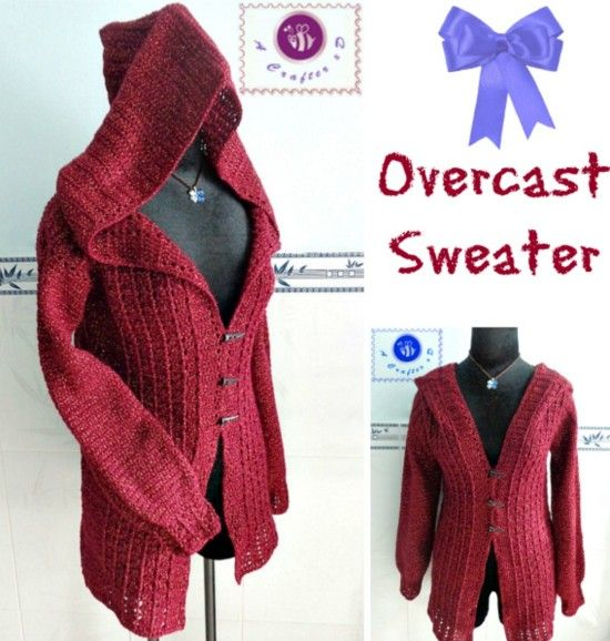 Crochet circular jacket pattern free pinterest best ideas hooded overcast hooded sweater maz kwok crochet cardi ravelrey free download evernote 8 ply 100g x 5 fandeluxe Images