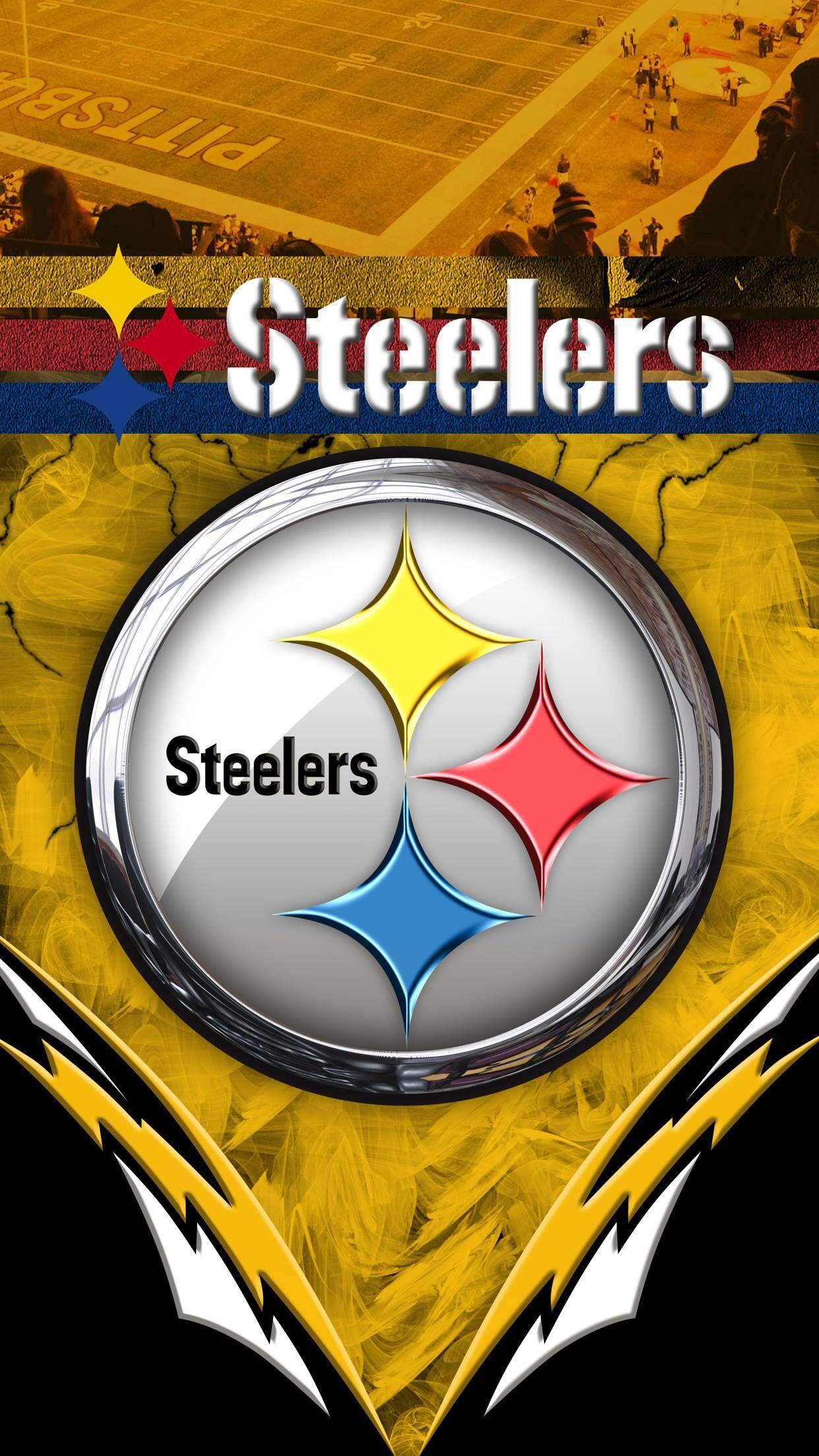 Pittsburgh Steelers Phone Desktop Wallpaper Backgrounds In 2019 Pittsburgh Steelers Wallpaper Pittsburgh Steelers Logo Pittsburgh Steelers Football