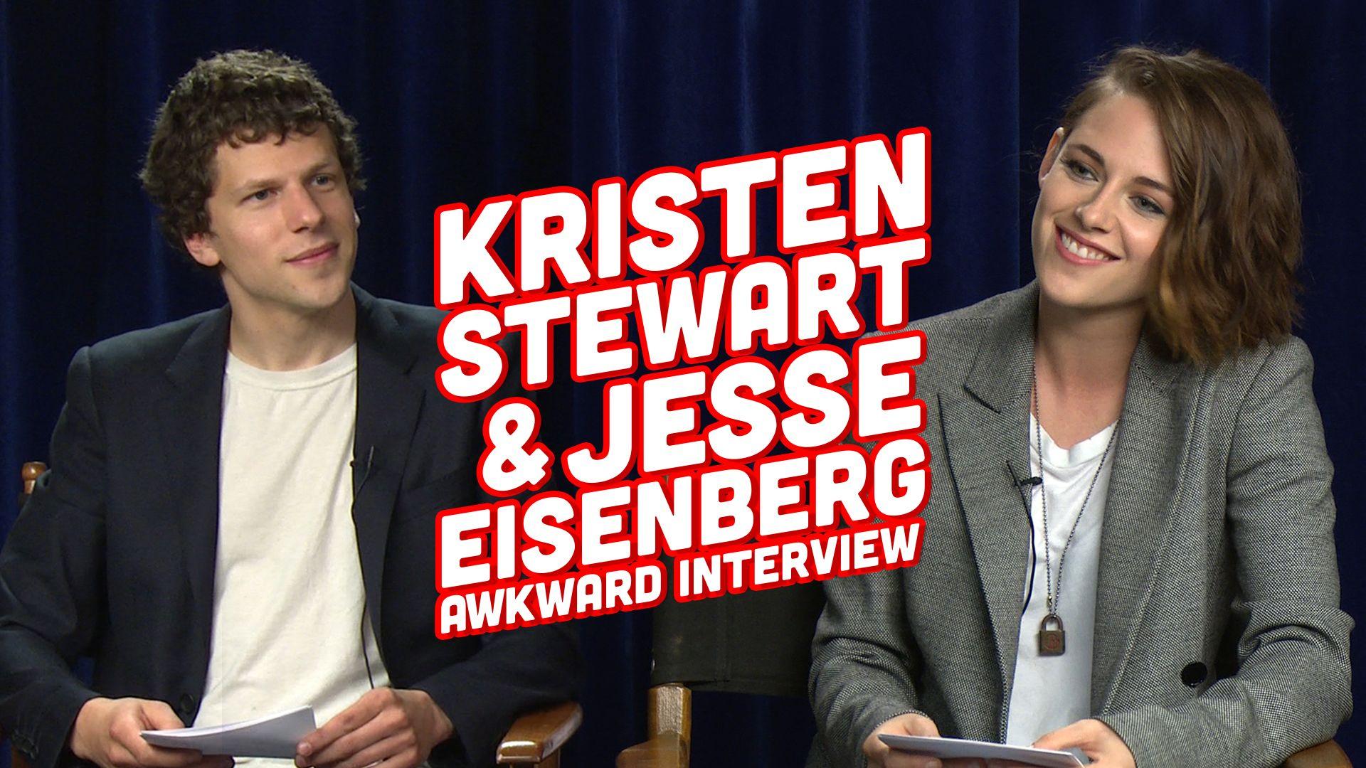 Kristen Stewart And Jesse Eisenberg S Awkward Interview Kristen