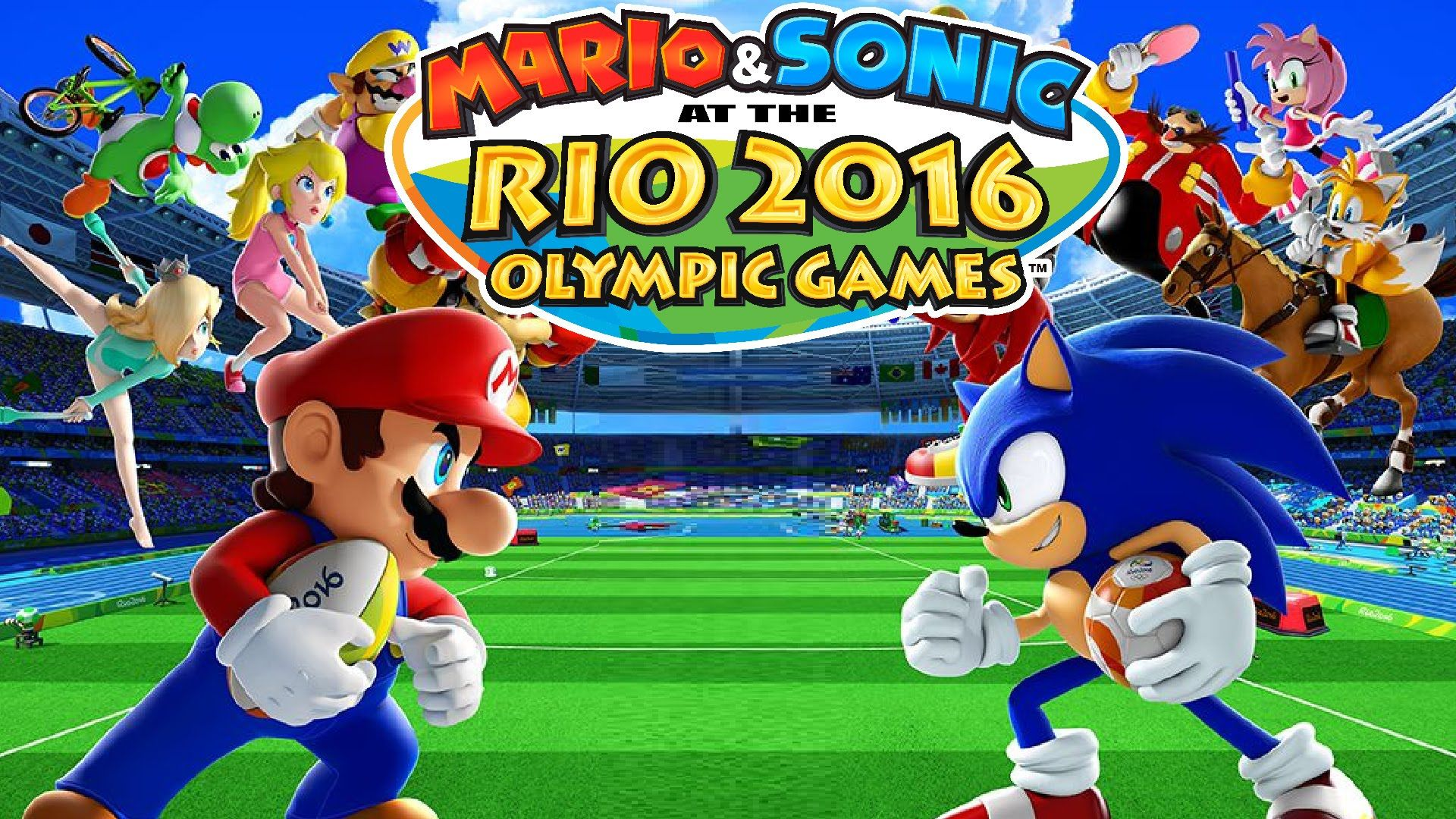 5232768fe Mario  amp  Sonic at the Rio 2016 Olympic Games Review - http