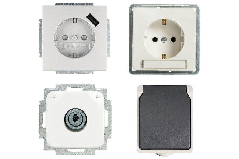 Sicherheit Beim Arbeiten Mit Strom Hornbach In 2020 Schalter Und Steckdosen Schalterprogramm Elektroinstallation
