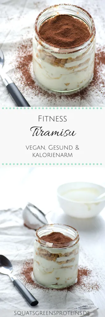 Rezept: Veganes Fitness-Tiramisu #quickfitness