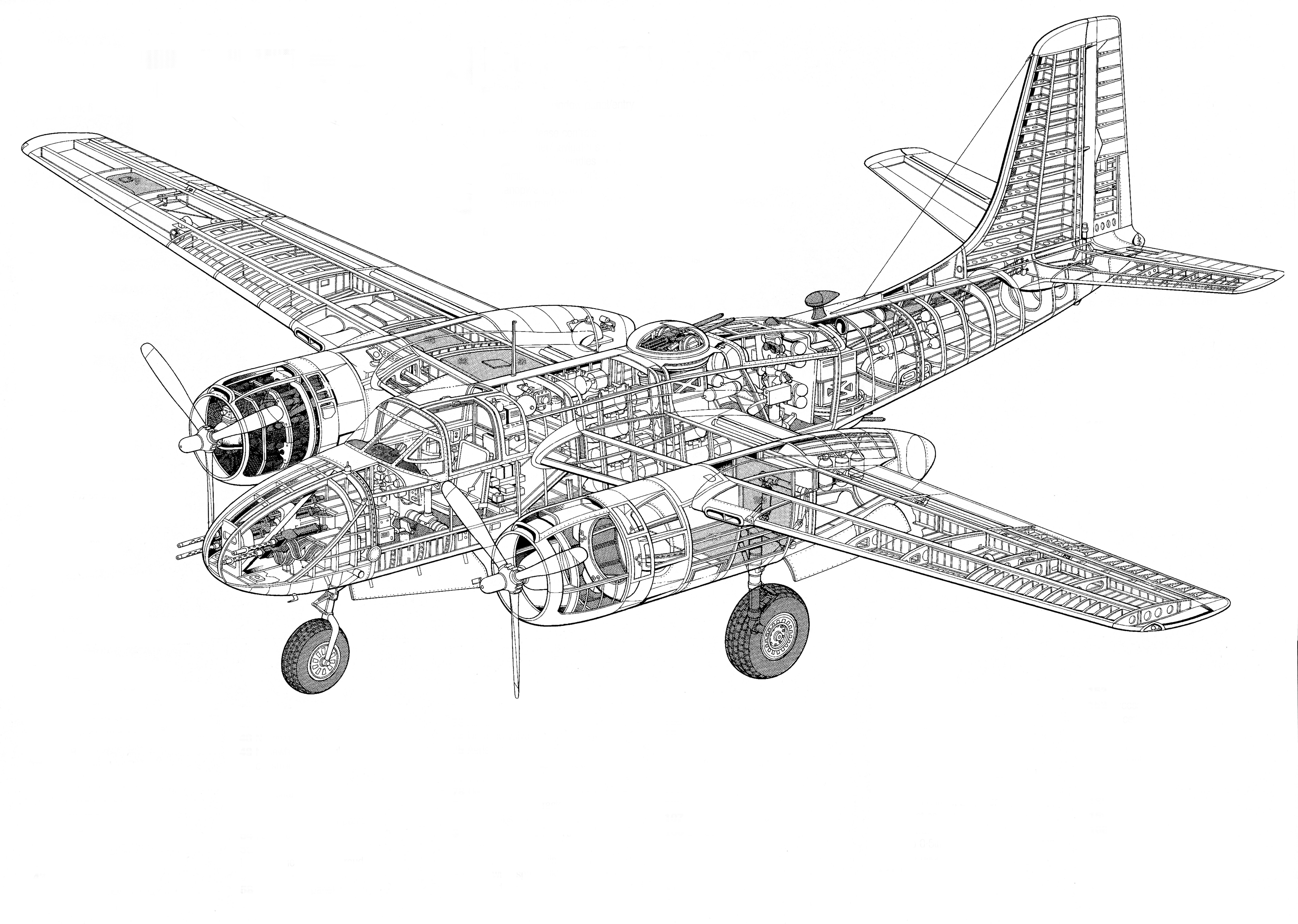 Douglas A-26, B-26 Invader A-26A Counter Invader - RC Groups
