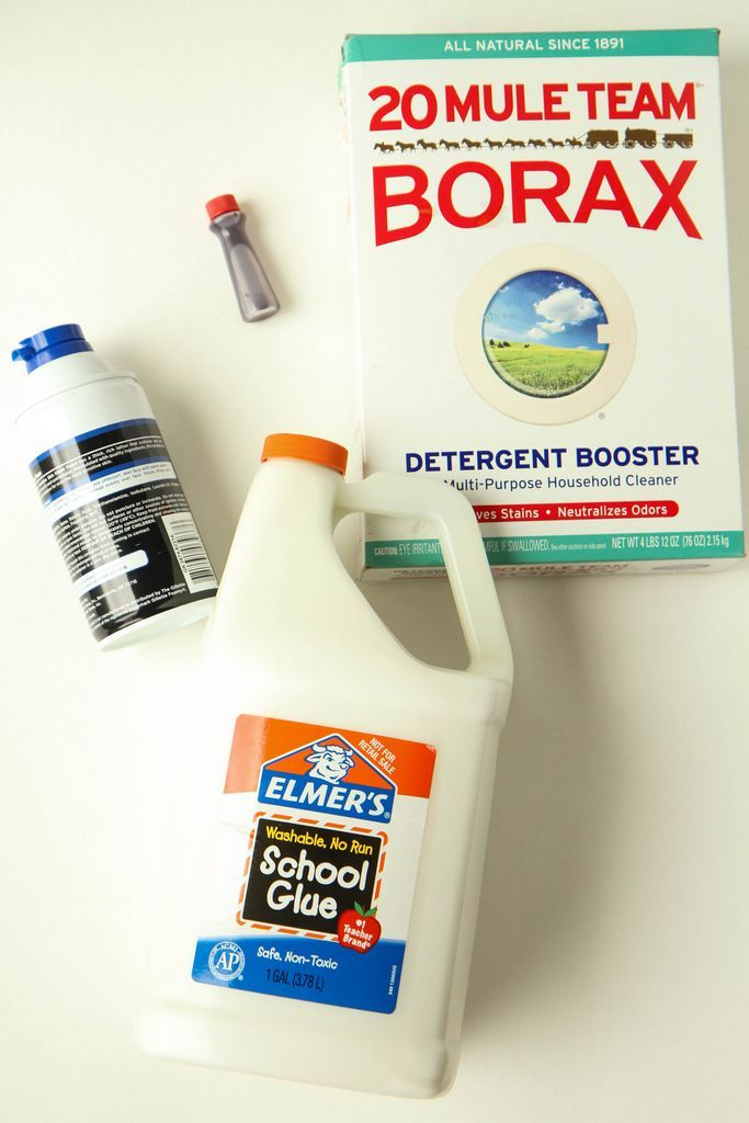 Diy fluffy slime recipe from momadvice addie pinterest how to make fluffy slime borax shaving cream ccuart Images