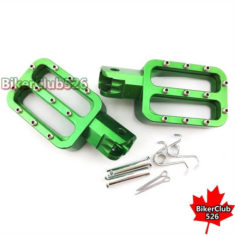 Sponsored Ebay Green Footpegs Foot Rest For Chinese Pit Dirt Bike Xr50 Crf50 Klx110 50cc 160cc 50cc Bike Motorcycle Parts And Accessories
