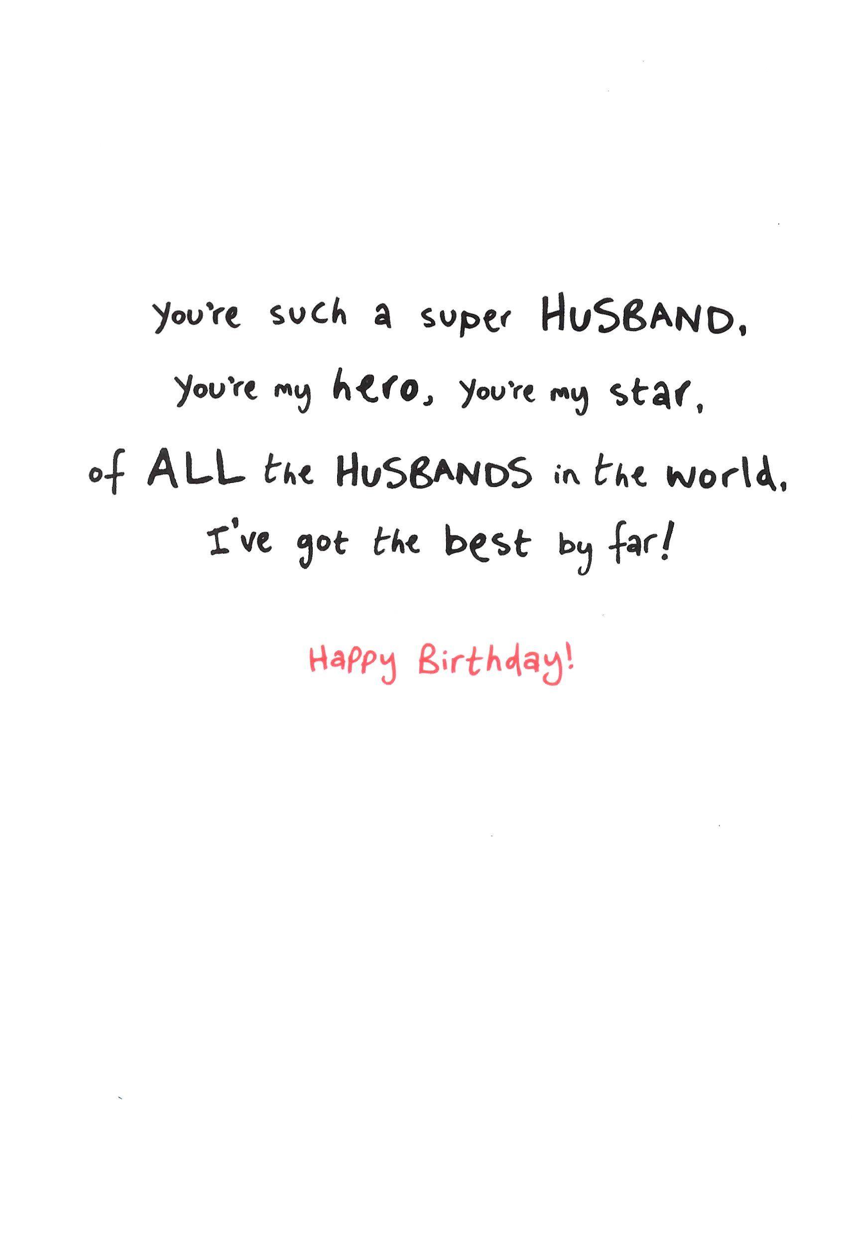 Birthday Invitations Card Online Cards Super Hero Husband Birthday