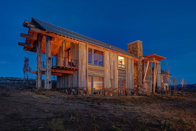 Wolf Creek Ranch By S+D Architects