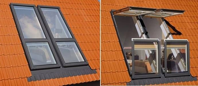 From Roof Window To Balcony In Seconds Roof Window Balcony Window Balcony